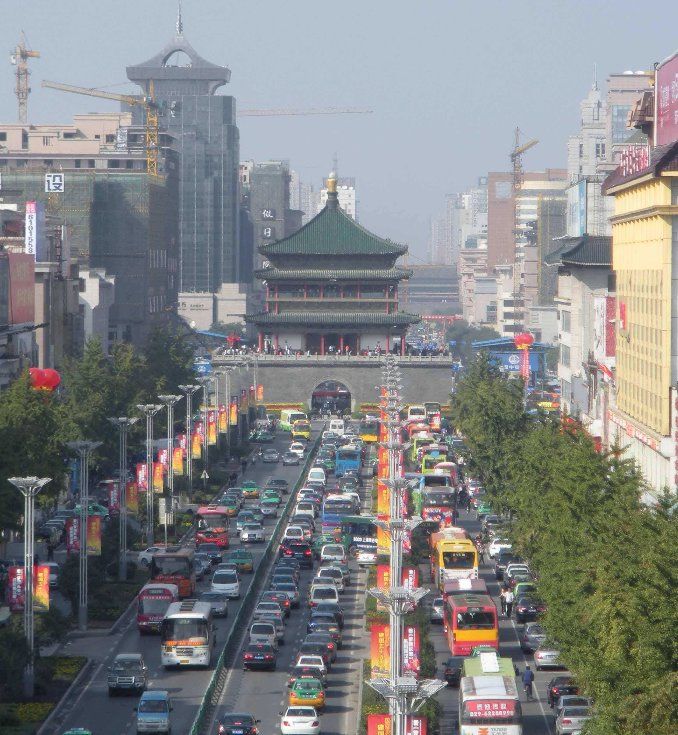 Visiting Xian   iLook China
