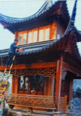 one Jackie Chan ancient Chinese wooden structures