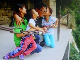 Chen Zhou with family #2
