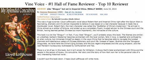 #1 - Joanna Daneman review posted June 19 2014