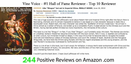 1AA - 244 Positive Reviews - Hall of Fame Reviewer - August 26 - 2017